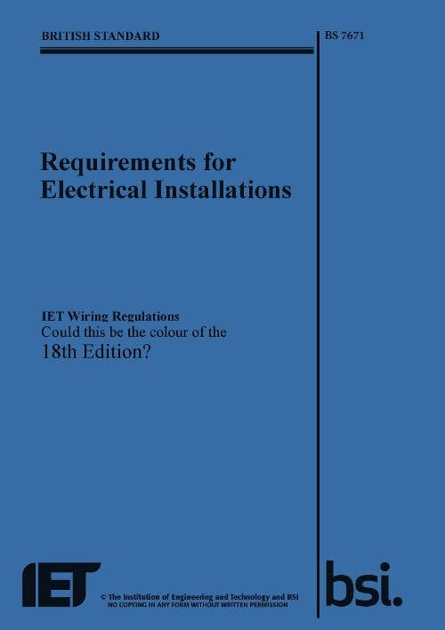 17th Edition Wiring Regulations Book 2017 - Wiring Solutions